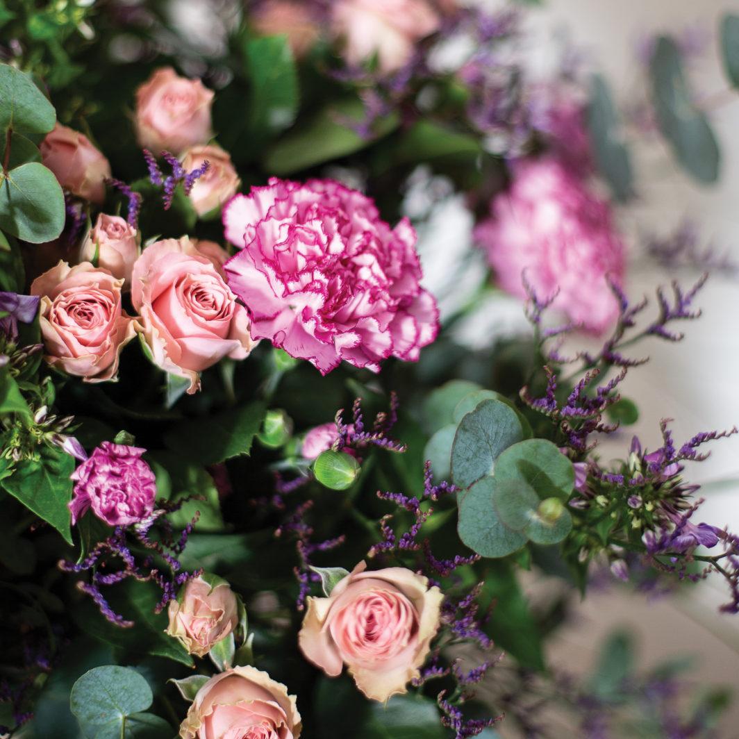 Bouquet tendre zoom